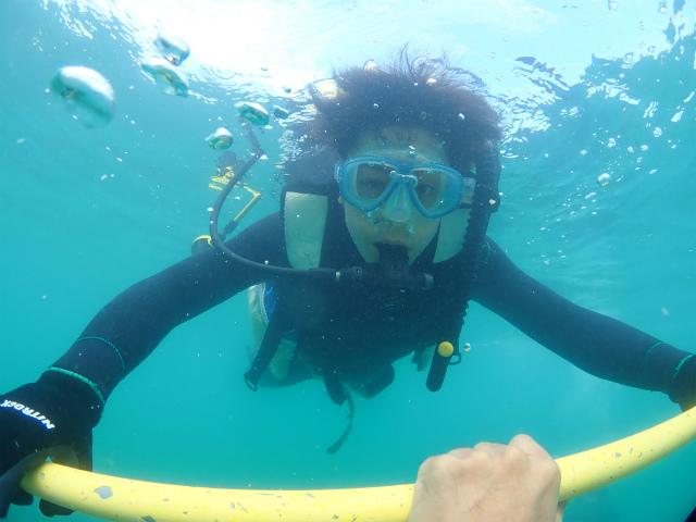 沖縄 那覇 ビーチダイビング 体験ダイビング