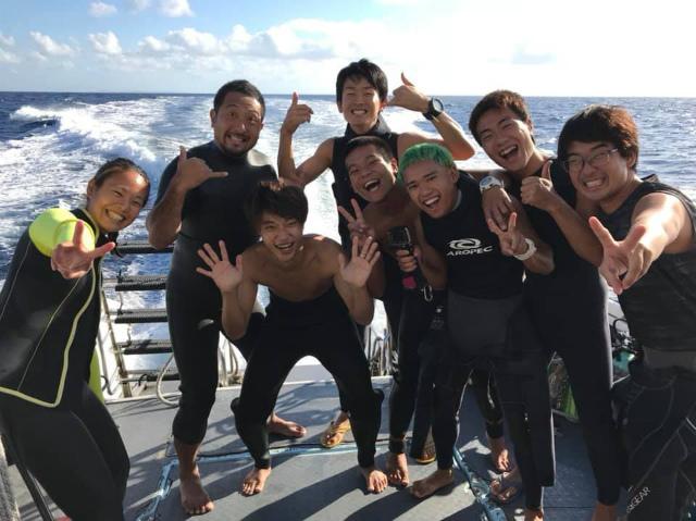 アルファダイブ 沖縄 慶良間 慶良間諸島 ダイビング ボートダイビング 自社船