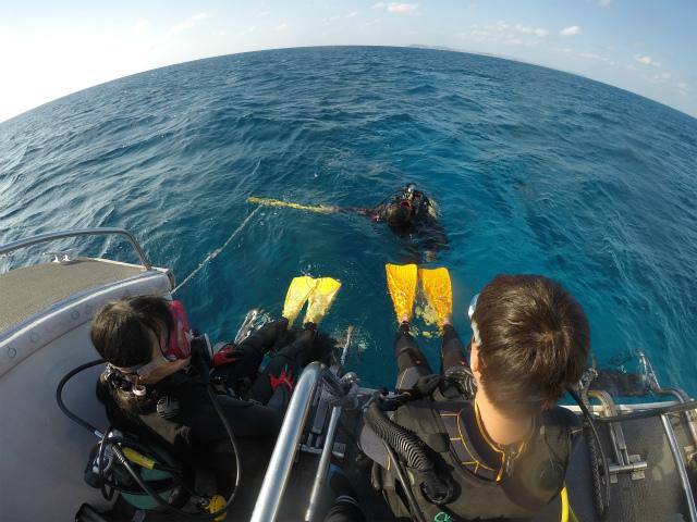 沖縄 チービシ諸島 ナガンヌ 神山島 ダイビング チービシ ボートダイビング 自社船