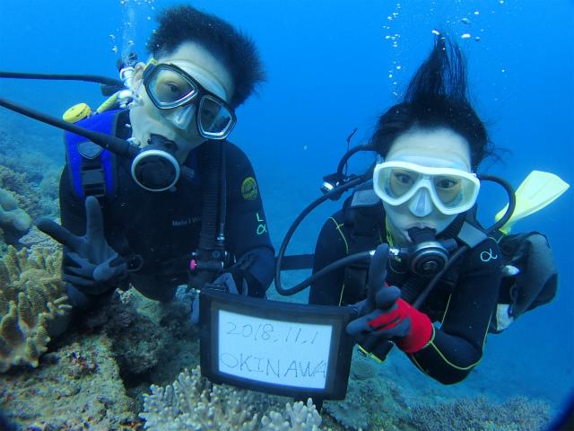 沖縄 沖縄本島 ダイビング ボートダイビング