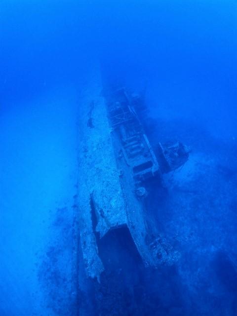 沖縄 ダイビング 古宇利島 エモンズ 沈没船