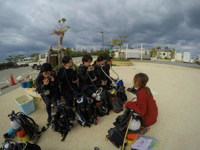 沖縄 北谷 砂辺 宮城海岸 ダイビング ファンダイビング ビーチダイビング
