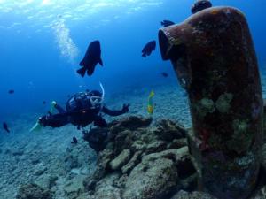 沖縄 ダイビング 砂辺 ビーチFUNダイビング