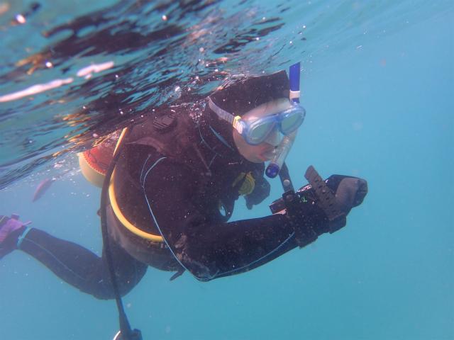 沖縄 ダイビング ビーチFUNダイビング OWD講習