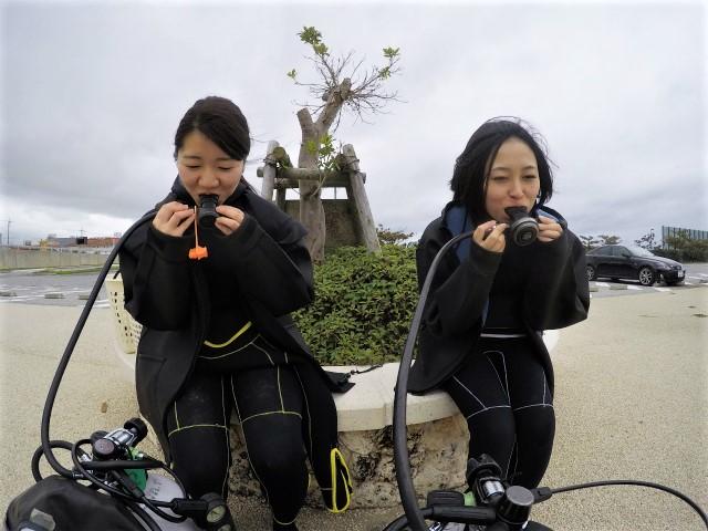沖縄 沖縄本島 那覇 波の上うみそら公園 那覇シーサイドパーク ダイビング ビーチダイビング