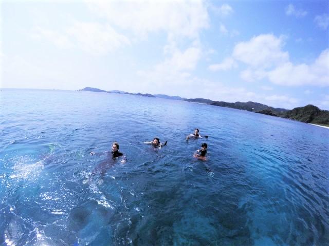 沖縄 慶良間諸島 慶良間 座間味島 渡嘉敷島 ダイビング ボートダイビング