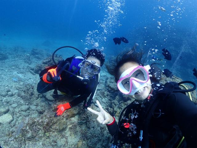 沖縄 沖縄本島 ダイビング 砂辺 北谷 宮城海岸 ビーチダイビング