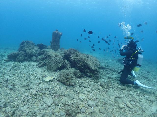 砂辺ダイビング ポスト