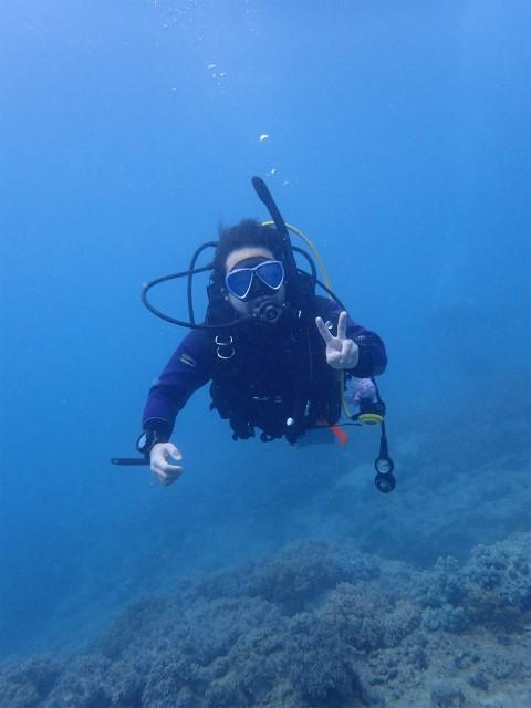 沖縄 沖縄本島 読谷村 ダイビング ボートダイビング