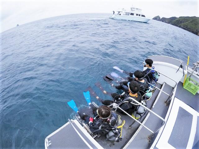 沖縄 沖縄本島 宜野湾 ダイビング ボートダイビング ファンダイビング