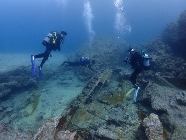 残波 沖縄 ダイビング