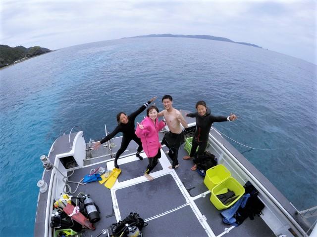沖縄 慶良間諸島 慶良間 座間味島 渡嘉敷島 ダイビング ボートダイビング 自社船