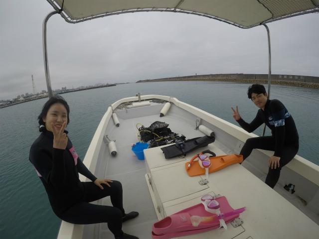 沖縄 宜野湾 ダイビング ボートダイビング