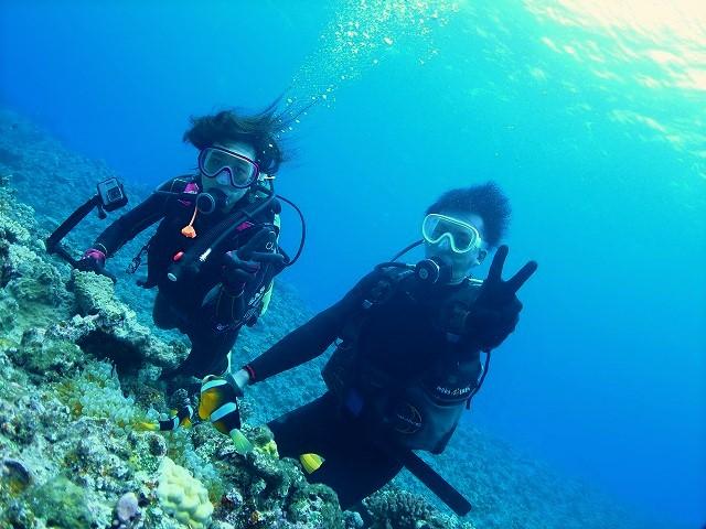 沖縄 ダイビング  チービシ諸島
