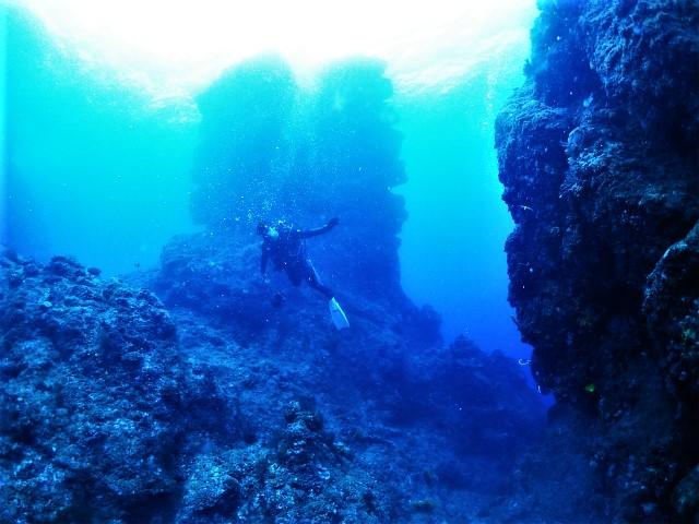 沖縄 辺戸岬 沖縄本島 北部 ダイビング ボートダイビング