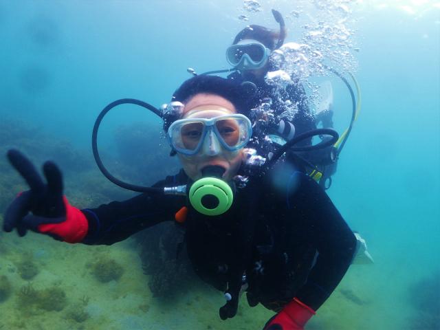 沖縄 那覇 ダイビング 体験ダイビング