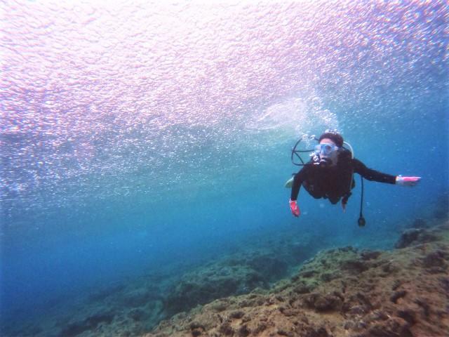 沖縄 北谷 砂辺 宮城海岸 ダイビング ファンダイビング