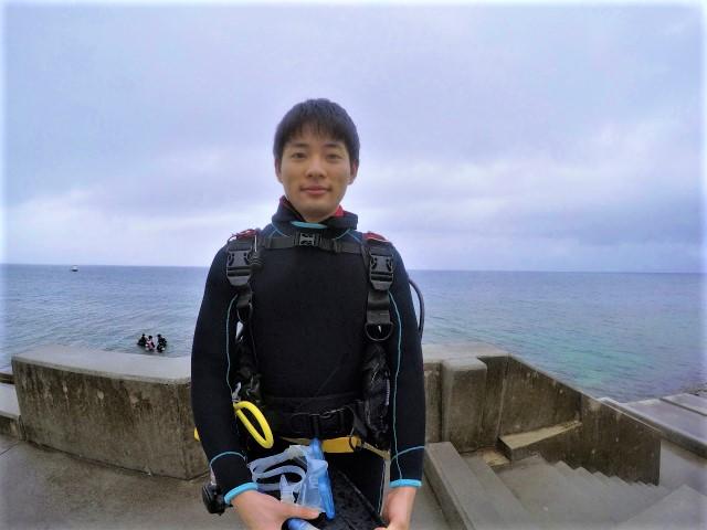 沖縄 沖縄本島 西海岸 砂辺 北谷 ダイビング ビーチダイビング ファンダイビング 水中ポスト