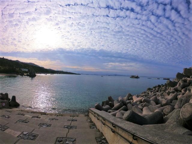 沖縄 沖縄本島 崎本部 北部 ゴリラチョップ ダイビング ビーチダイビング