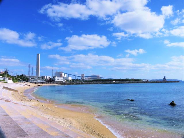 沖縄 沖縄本島 東海岸 金武 レッドビーチ ダイビング ビーチダイビング