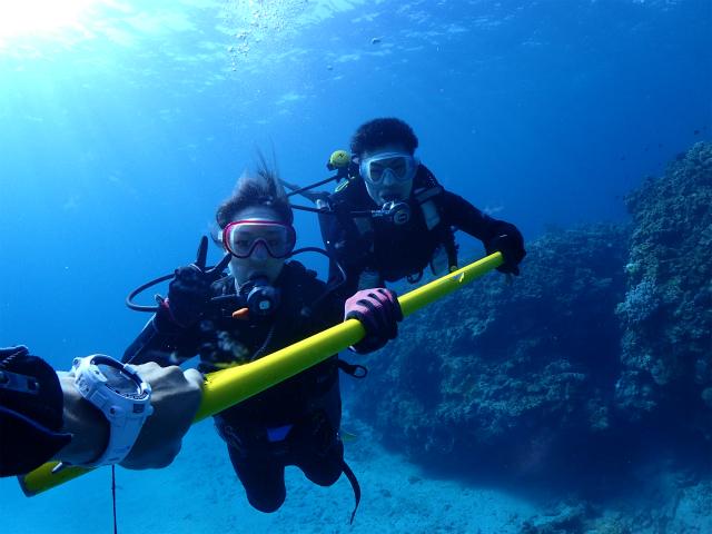 沖縄 慶良間 体験チダイビング
