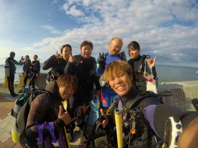 沖縄 ダイビング 慶良間 FUNダイビング 自社船 ボートダイビング チービシ