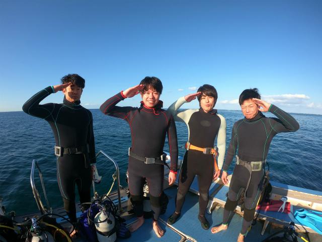 海 ダイビング 北谷