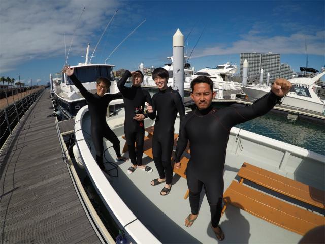 沖縄 ダイビング うみんちゅワーフ 海上アスレチック