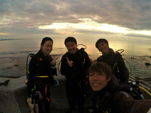 沖縄 ダイビング 砂辺 FUNダイビング ナイトダイビング