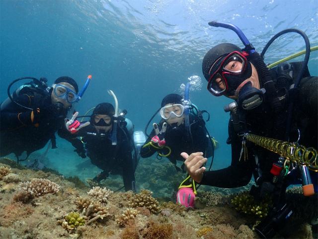 沖縄 ダイビング ビーチFUNダイビング