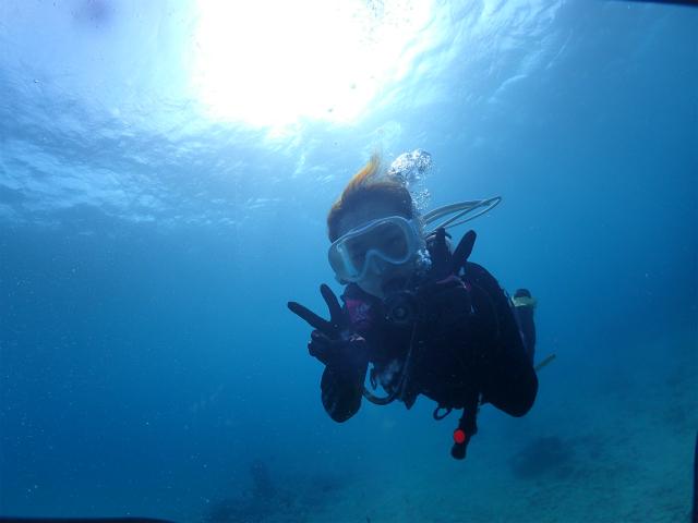 沖縄 北谷 体験ダイビング