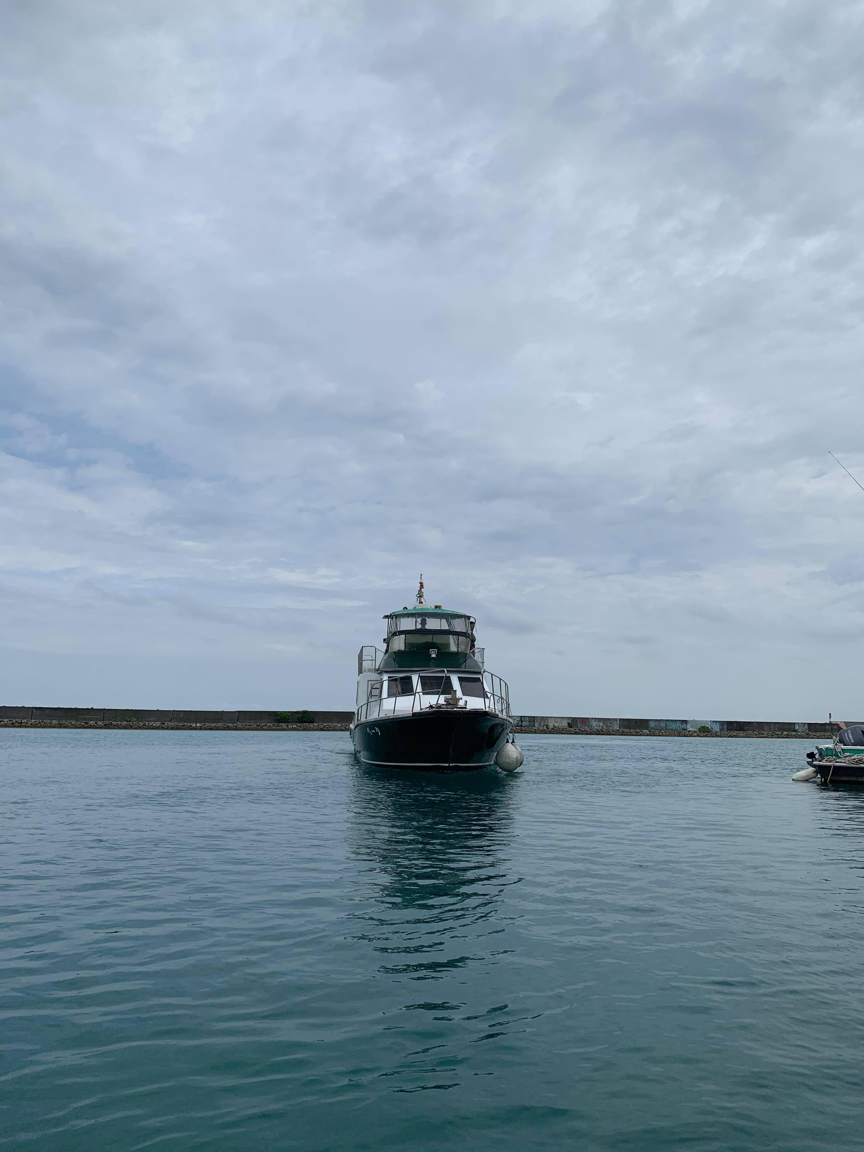 自社船 海 沖縄