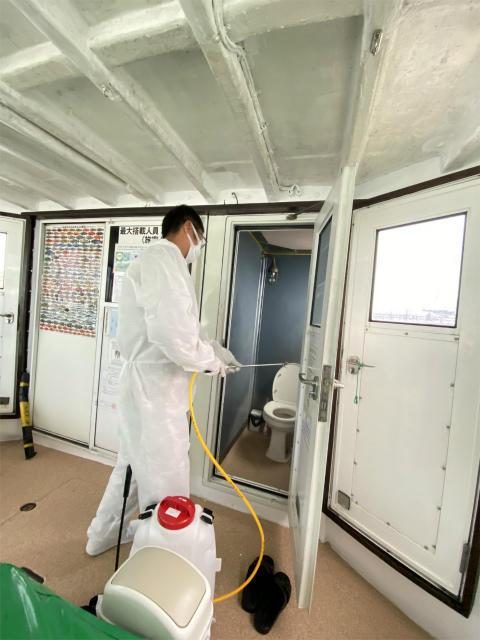 ダイビング 除菌 抗菌 船