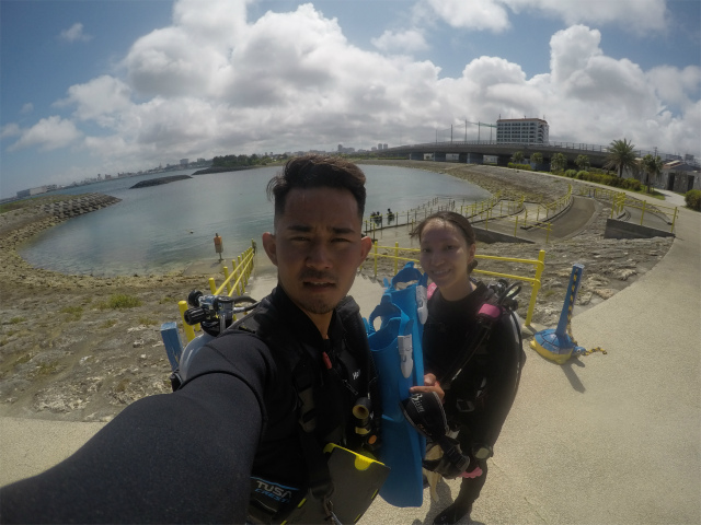 沖縄旅行 ウミガメ 慶良間 体験ダイビング