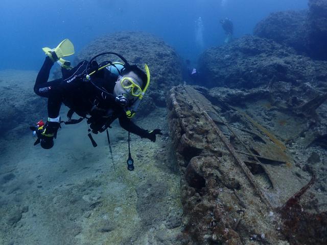 沖縄 ダイビング 残波岬 本島近海 FUNダイビング