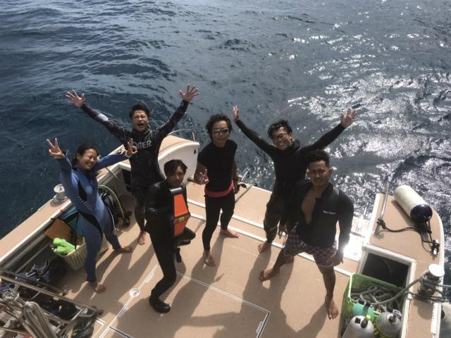 沖縄 FUNダイビング ケラマ 海