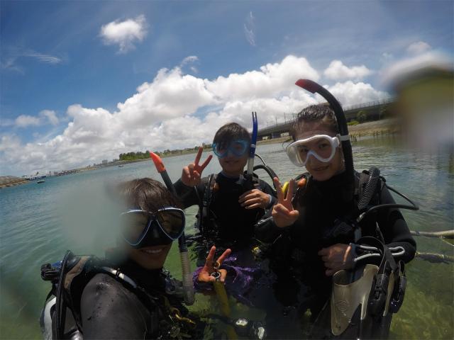海 慶良間 ダイビング 旅行