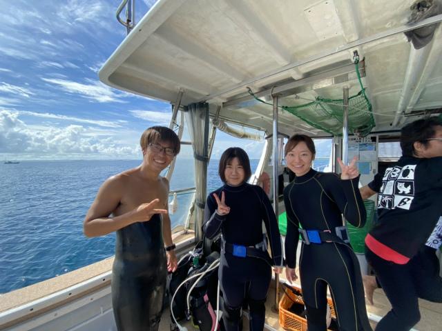 沖縄 ダイビング 慶良間 体験ダイビング OWD講習