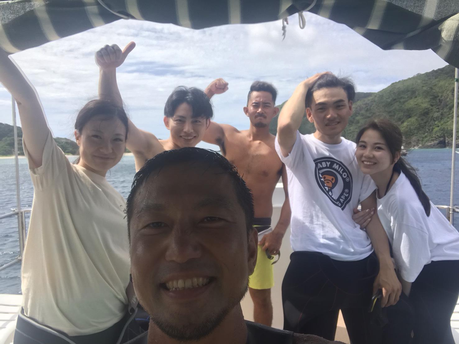 沖縄 慶良間 海 景色 ダイビング