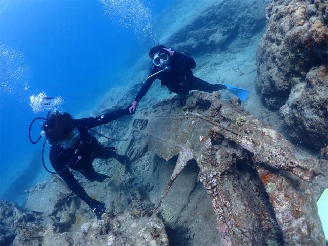 沖縄 ダイビング 観光 海