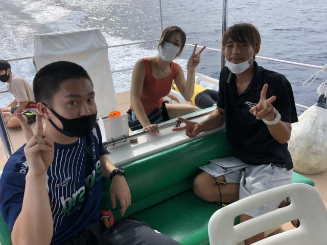 沖縄 ダイビング 慶良間 体験ダイビング FUNダイビング OWD講習