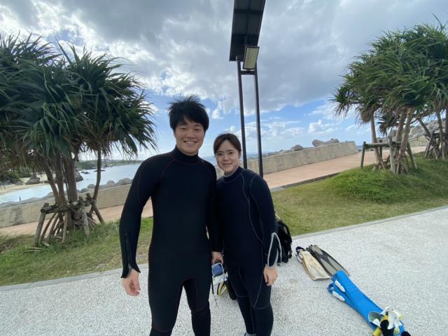 沖縄 ダイビング ビーチ 体験ダイビング FUNダイビング