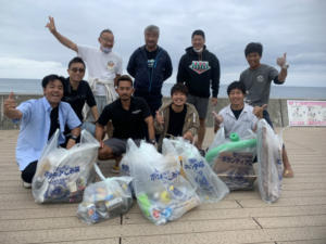 沖縄 ダイビング 砂辺 海岸清掃