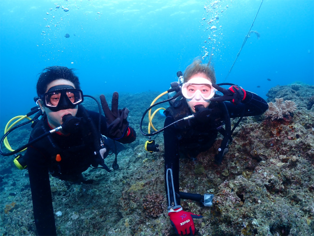 沖縄 ダイビング 本島近海 体験ダイビング