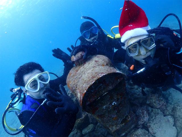 ビーチ ダイビング 体験 沖縄 観光