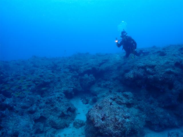 イナンビシ ダイビング 沖縄 ボート 海