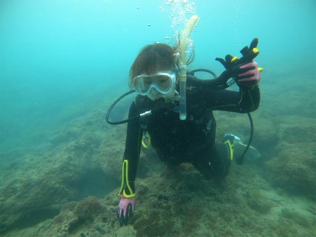 講習 ダイビング 沖縄 慶良間 FUN