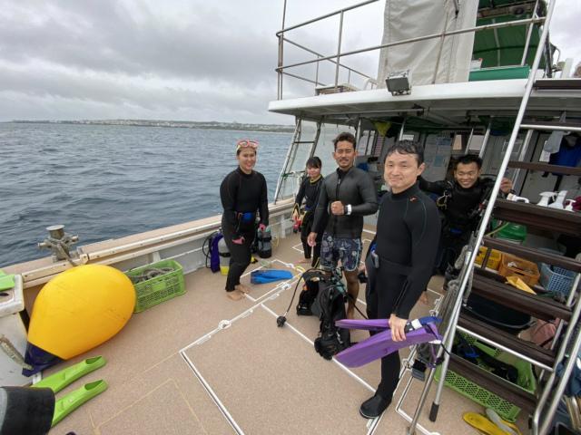 沖縄 ダイビング 本島近海 FUNダイビング AOW講習