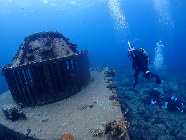 沖縄 ダイビング 砂辺 FUNダイビング