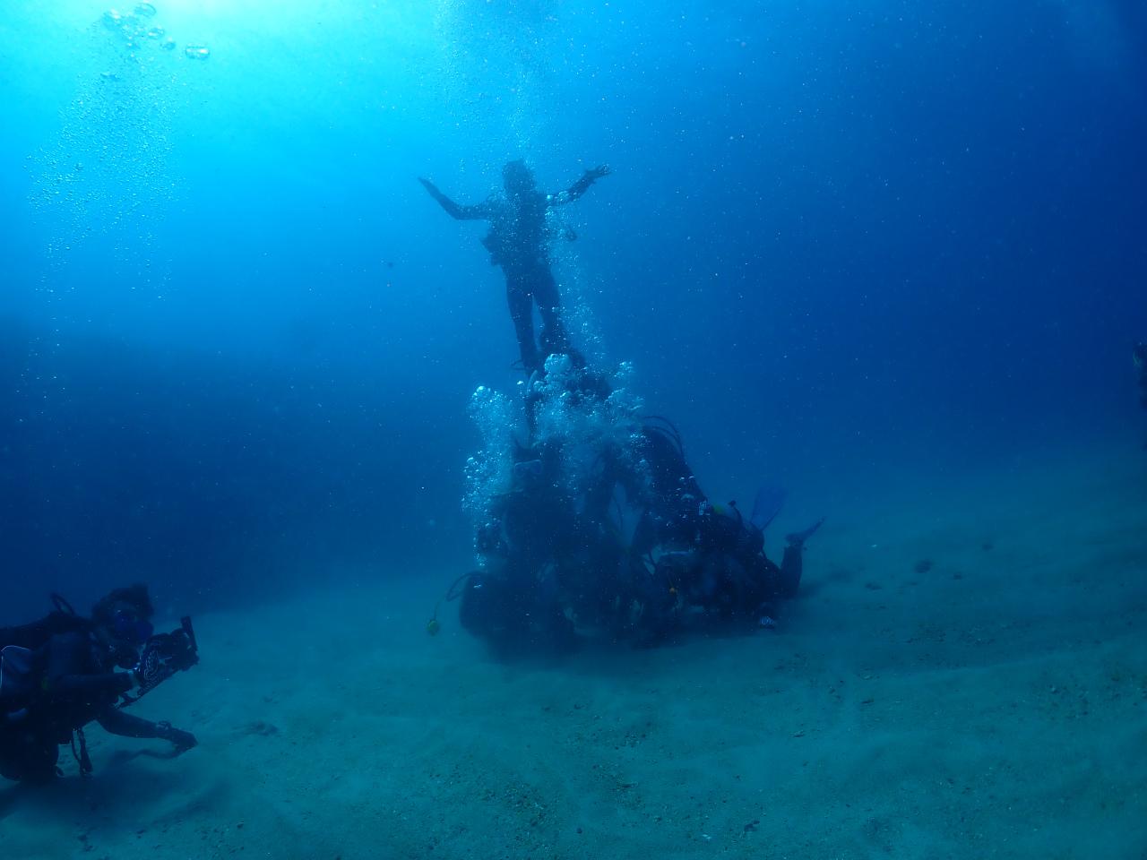 水中ピラミッド 武富チーム